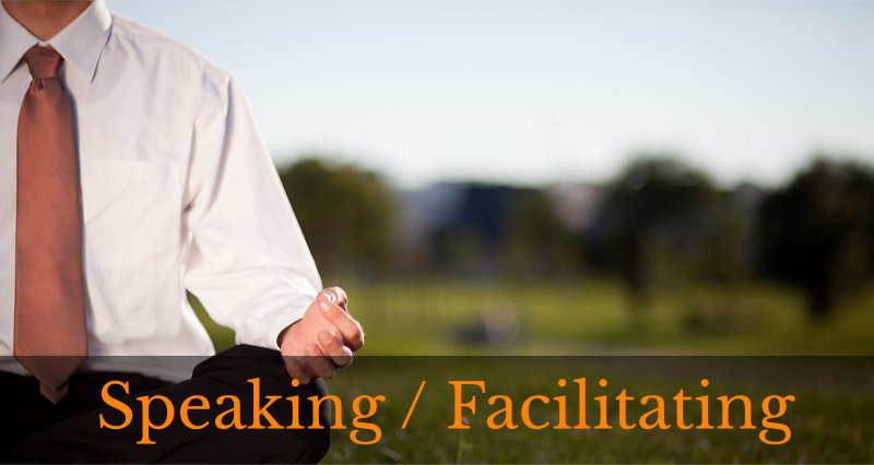 Speaking / Facilitating